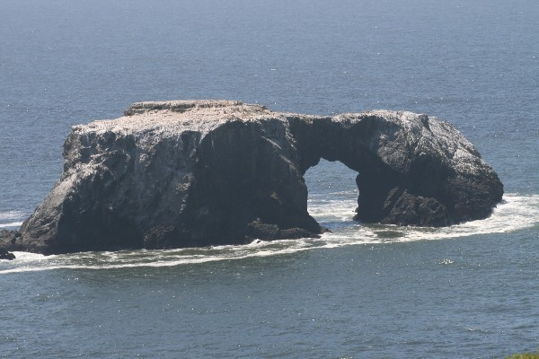 Arch Rock at Goat Rock