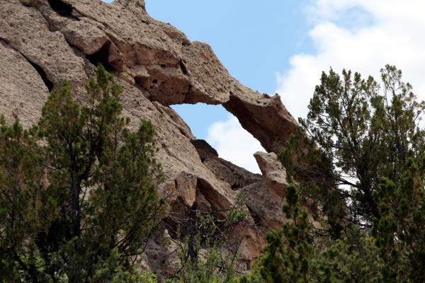 Bandelier Arch