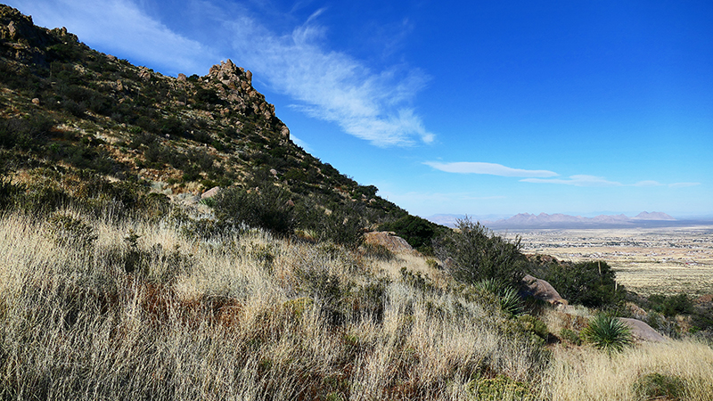 Organ Mountains [Organ Mountains National Recreation Area] - Baylor Pass