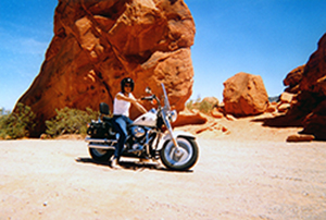 Harley Valley of Fire