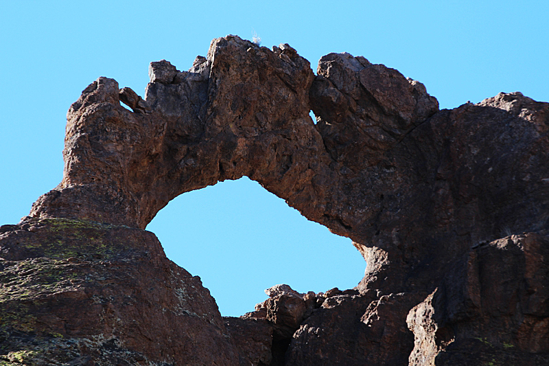 Black Glass Canyon Arch
