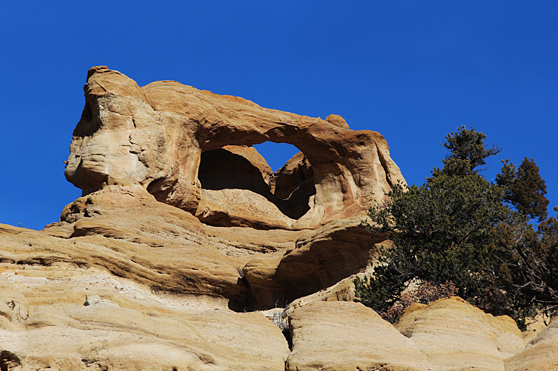 Blanco Canyon Arch