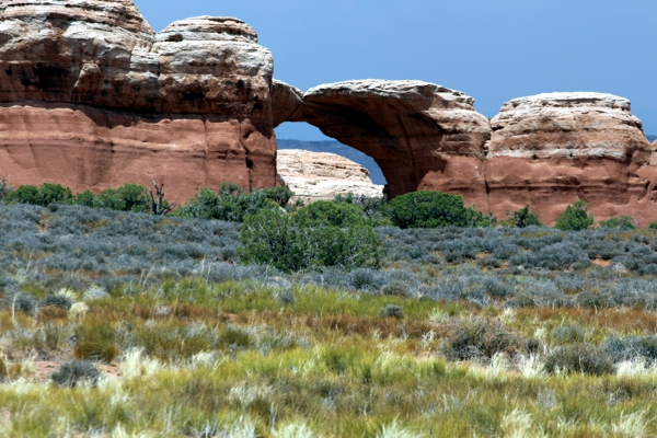 Broken Arch [Arches National Park]