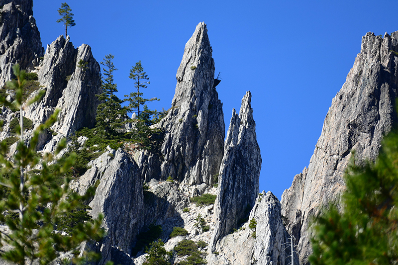 Castle Crags and Dome [Castle Crags State Park and Wilderness]