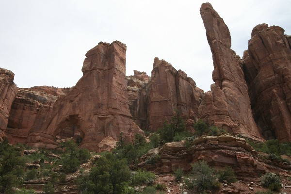 Cathedral Arch [Arch Canyon]