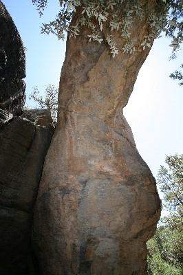 Chiricahua Natural Bridge