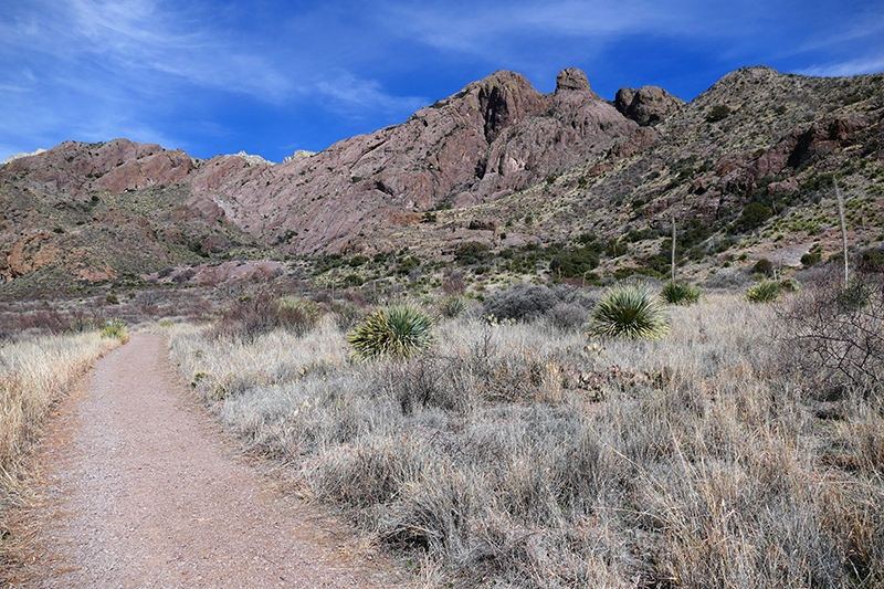 Crawford, Fillmore, La Cueva Trails [Organ Mountains]