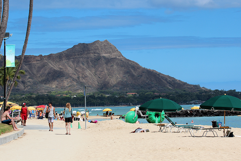 Diamond Head Crater Oahu Hawaii