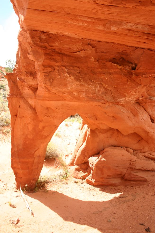 Double Arch aka. Flame Arch aka. High Heel Arch [Coyote Buttes North]