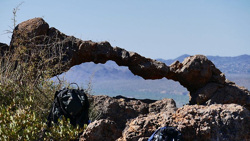 Elephant Arch [Goldfield Mountains]