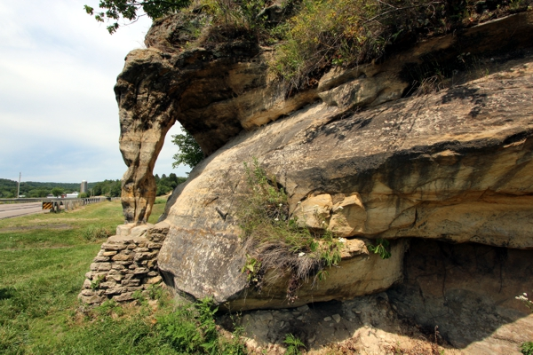 Elephant Trunk Rock