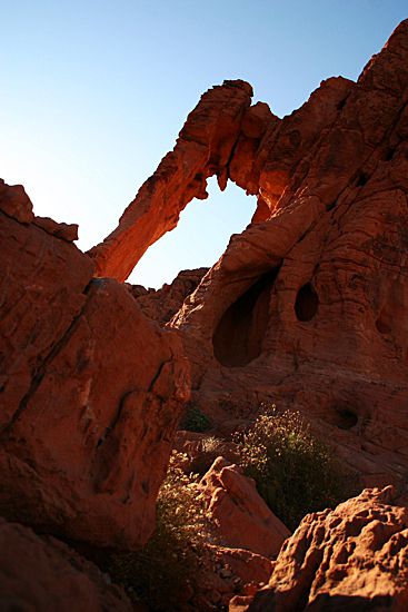 Elephant Rock im Valley of Fire State Park
