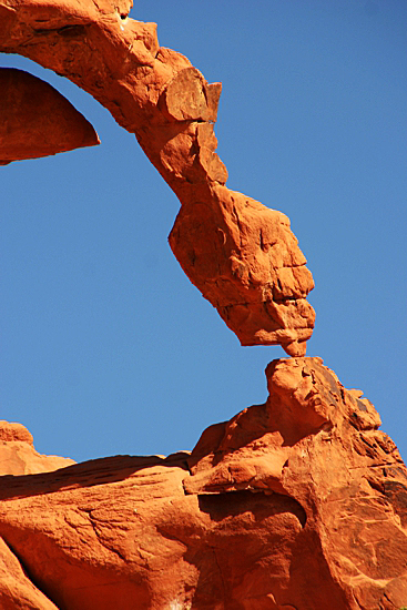 Ephemeral Arch im Valley of Fire State Park