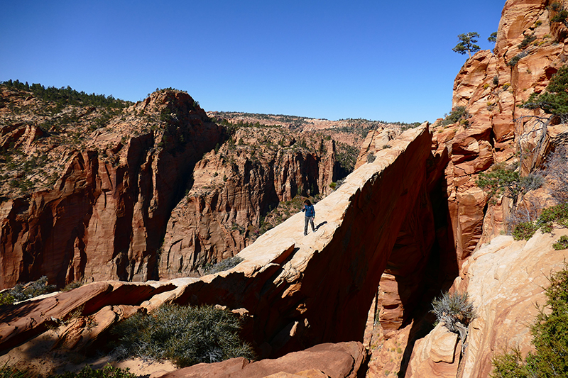 Eye of Heaven - Water Canyon Arch