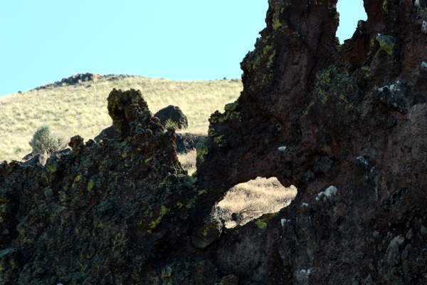 Forbidden Arch [Lava Beds National Monument]
