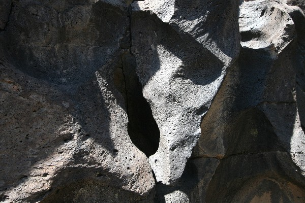 Fossil Falls Arches