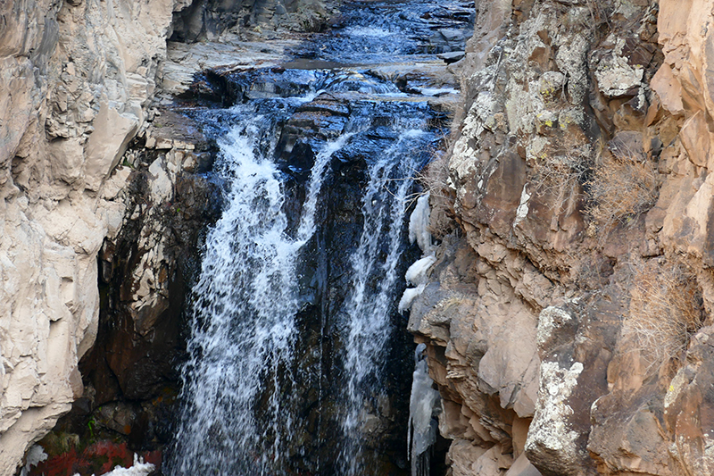 Frijoles Canyon and Falls [Canon de Los Frijoles - Bandelier National Monument]