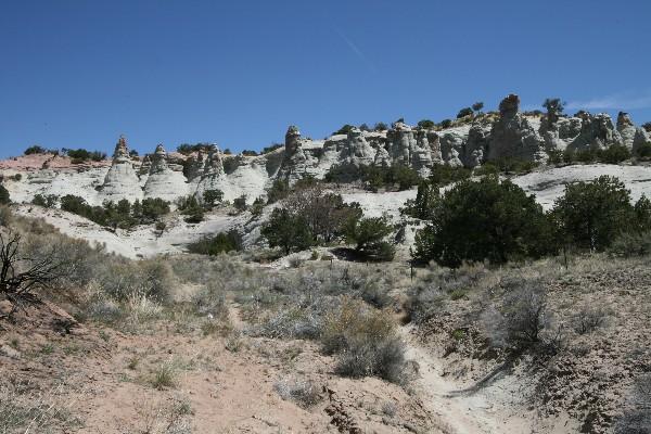 Gallup Hoodoos [Red Rocks]