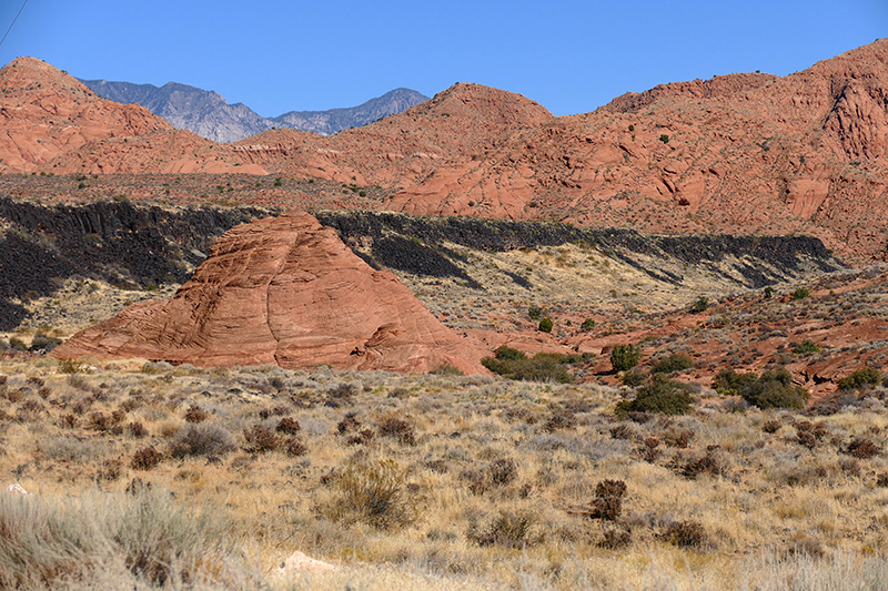 USA Hiking Database: Grapevine, Brackens, Prospector Trails [Red Cliffs National Conservation Area]