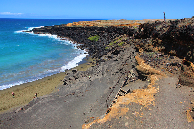 Green Sands Beach Mahana Bay Big Island Hawaii