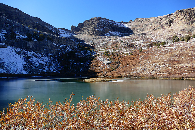 Island Lake Ruby Mountains - Lamoille Canyon [Humbolt National Forest]