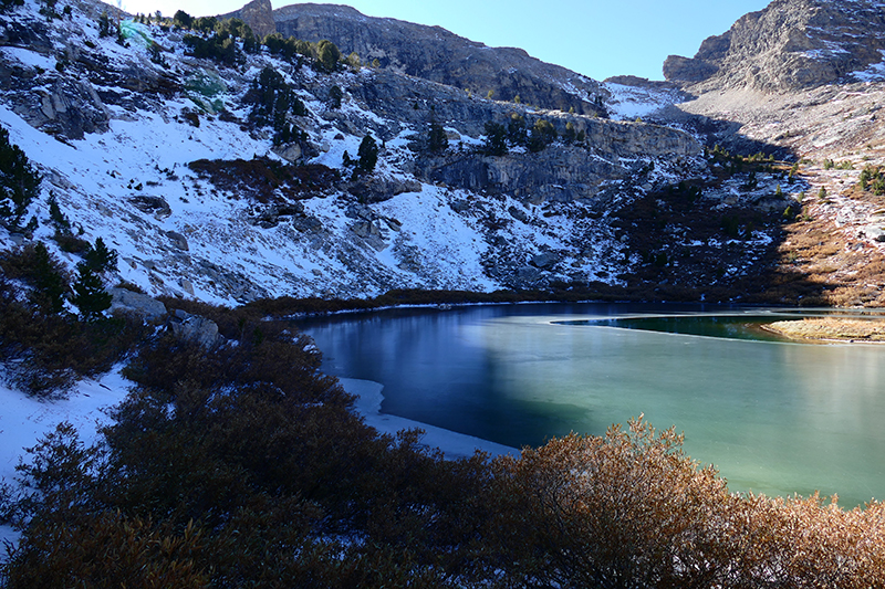 Island Lake - Ruby Mountains [Humbolt National Forest]