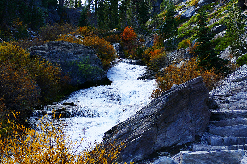 Kings Creek Cascades - Lassen Volcanic National Park