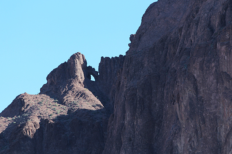 Kofa Twin Arches Castle Dome Mountains