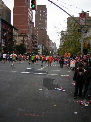 New York City Marathon 2007
