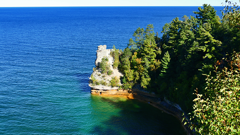 Miners Castle [Lake Superior - Michigan Upper Peninsula]