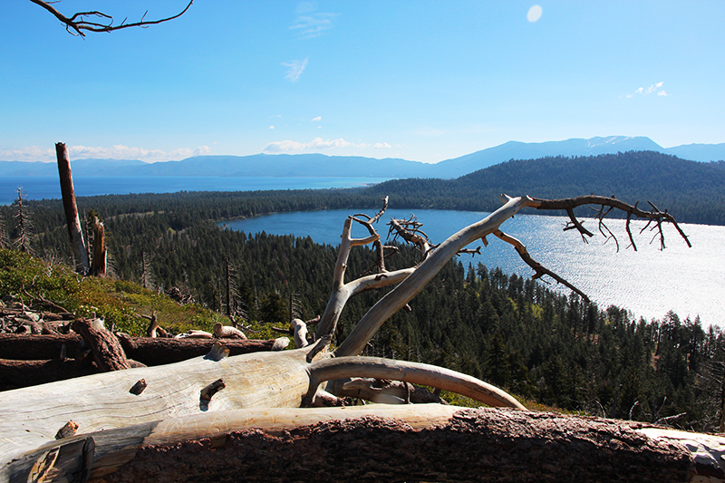 Mount Tallac Lake Tahoe