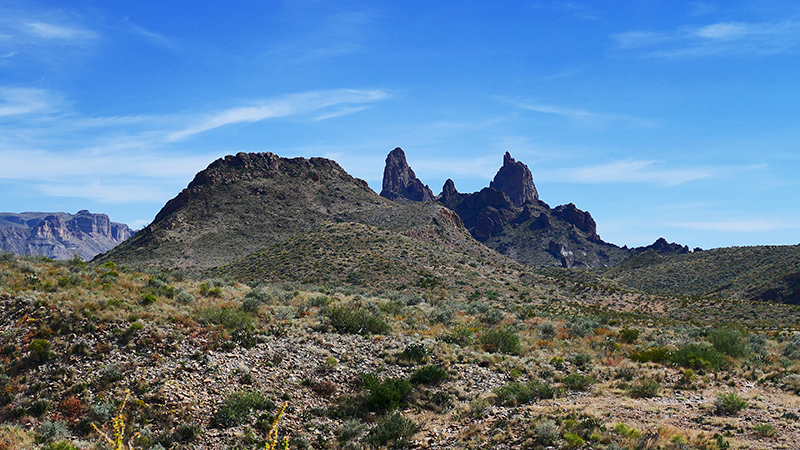 Mule Ear Peaks [Big Bend National Park]