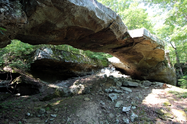 Natural Bridge of Arkansas