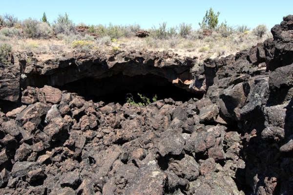 Peninsula Bridge [Lava Beds National Monument]