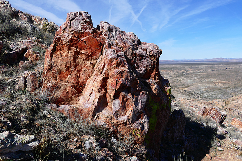 Picacho Mountain und Box Canyon [Las Cruces]