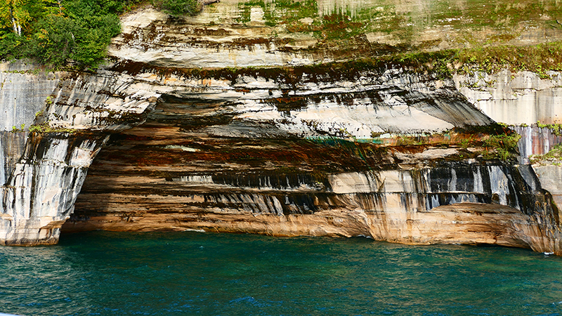 Pictured Rocks National Lakeshore [Lake Superior - Michigan Upper Peninsula]
