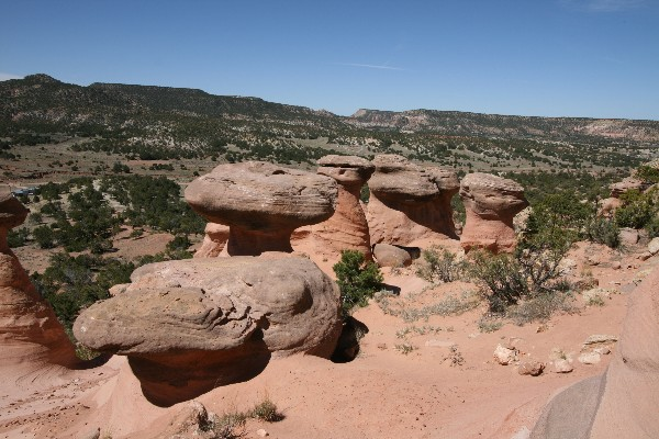 Pinedale Hoodoos [Fallen Timber Ridge]