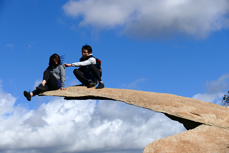 Potato Chip Rock - Mount Woodson