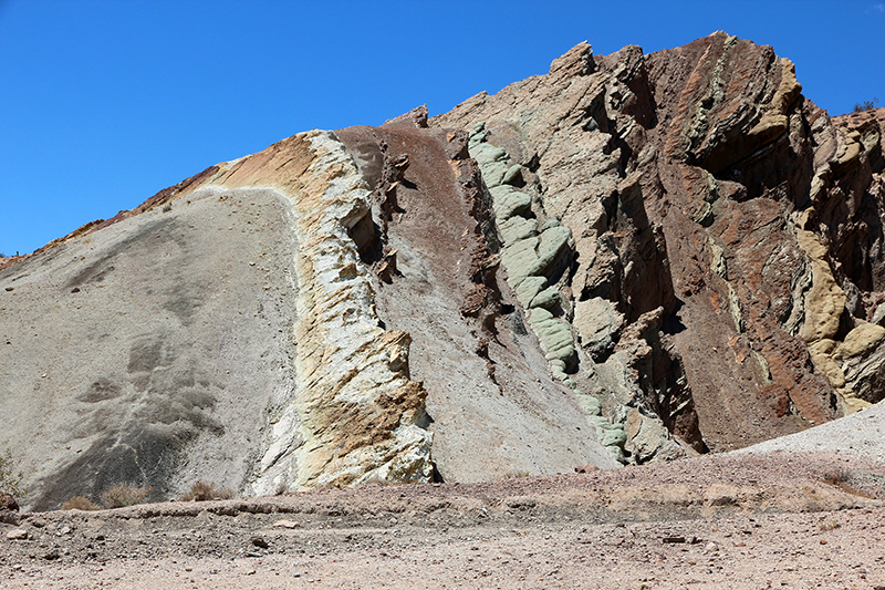 Rainbow Basin Mud Hills