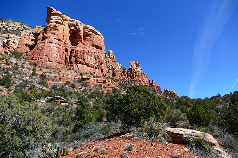 Lizard Head Trail - Chimney Rock Trail [Sedona]