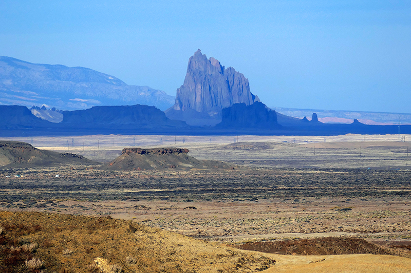 Ship Rock New Mexico San Juan Basin
