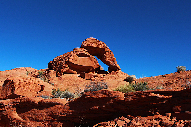 Spider Arch Valley of Fire