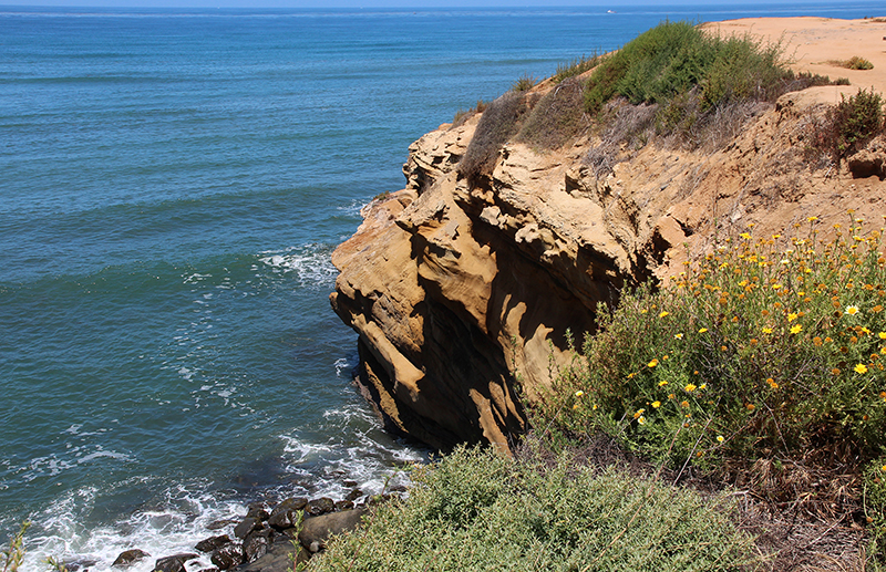Sunset Cliffs and Arches San Diego