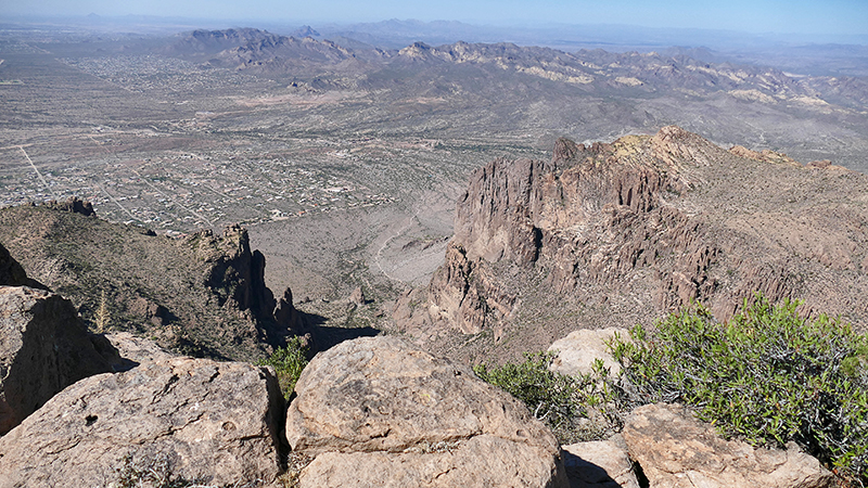 Flat Iron Superstition Mountains