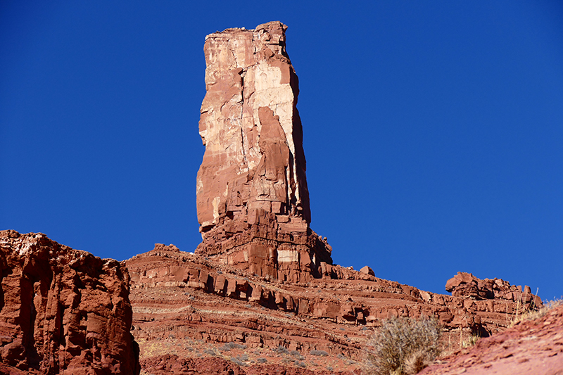 Sylvester Trail - Castle Rock aka. Castleton Tower [Professor Creek]