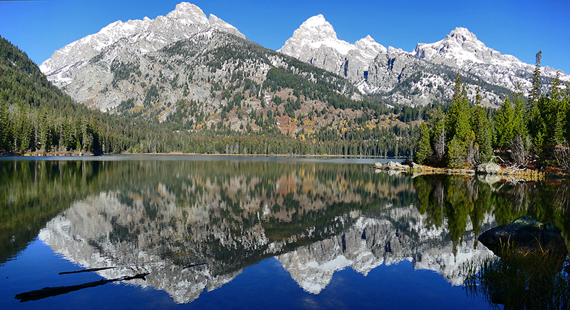 Taggart Lake - Bradley Lake - Surprise Lake - Amphitheatre Lake [Grand Teton National Park]