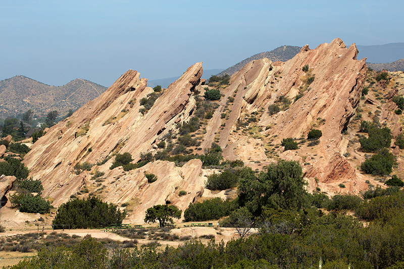 Vasquez Rocks Agua Dulce Canyon County Park