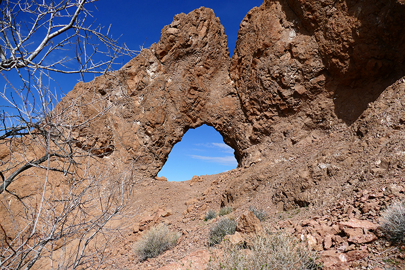 Virlis Fisher Arch Trail [Eldorado Mountains]