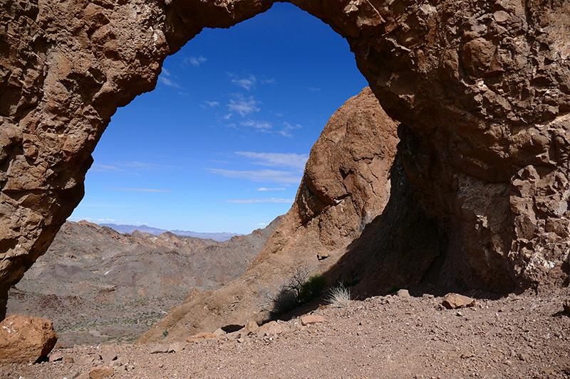 Virlis Fisher Arch Trail [Eldorado Mountains]