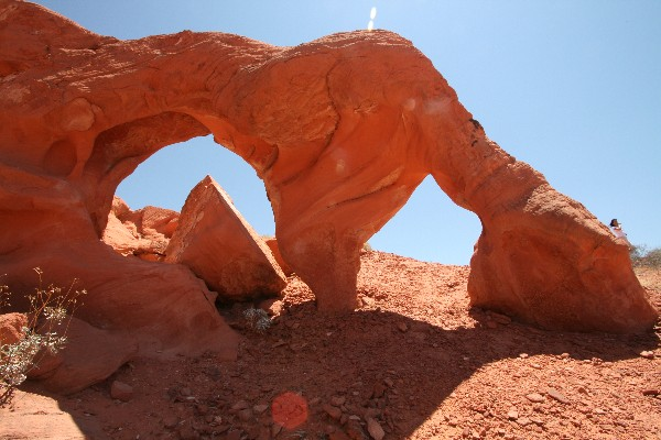 Arrowhead Arch [Valley of Fire SP]